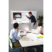 Plus Boards 2 Panel Capture Board Free-Standing Reversible Interactive Whiteboard; 78''