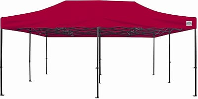 CaravanCanopy Monster Shelter 20 Ft. W x 20 Ft. D Canopy; Red