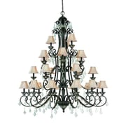 Dolan Designs Florence 27-Light Shaded Chandelier