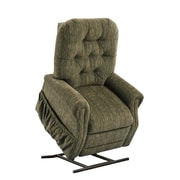 Med-Lift 25 Series 2 Position Lift Chair with Extra Magazine Pocket; Aaron - Cocoa