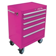 The Original Pink Box Wells 26''W 5-Drawer Tool Chest