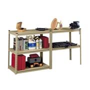 Tennsco Stur-D-Store 5 Shelf Shelving Unit Starter; 36 1/2'' x 18 1/2'' x 72''