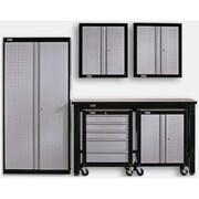 Stack-On 6' H x 4.5' W x 3.5' D 6-Piece Cadet Garage Storage System