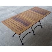 Furniture Designhouse European Caf   32'' x 72'' Folding Table