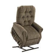 Med-Lift 25 Series 3 Position Lift Chair with Extra Magazine Pocket; Bromley - Cobblestone