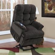Med-Lift 5555 Series Sleeper / Reclining Lift Chair with Extra Magazine Pocket; Cabo - Godiva