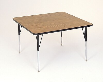 Correll, Inc. Square Activity Table; 48 x 48