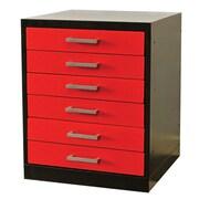 Hallowell Fort Knox Pedestal Steel Top Storage Cabinet; 18'' W
