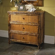 Kenian Coastal Chic 3 Drawer Accent Chest