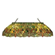 Meyda Tiffany Tiffany Hanginghead Dragonfly Oblong 6 Light Pool Table Light