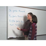 Marsh Contractor's Series Magnetic Wall Mounted Whiteboard, 4' x 12'