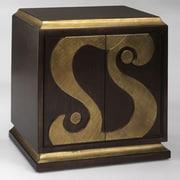 Aura Hand Painted Swirl Cabinet