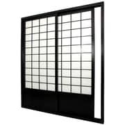 Oriental Furniture 83'' x 73.5'' Single Sided Sliding Door Shoji Room Divider