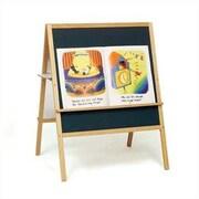 Marsh Children's Easels - Multi-task Easel Magnetic Free-Standing Chalkboard, 4' H x 3' W
