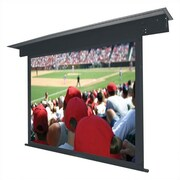 Vutec Lectric II Matte Black Electric Projection Screen Low Voltage Motor; 147'' diagonal