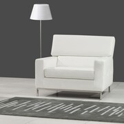 Bellini Modern Living Alison Arm Chair; White