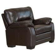 Abbyson Living Brookfield Italian Leather Chair