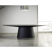 Modloft Sullivan Oval Dining Table; Wenge