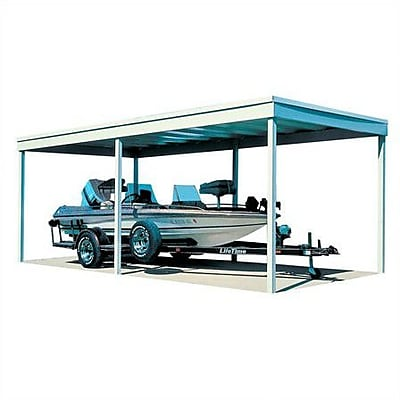 Arrow Freestanding Carport; 7'8'' H x 10'