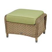 Wildon Home   Ottoman w/ Cushion; Meridian Coco