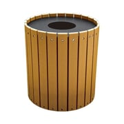Highland Products 32-Gal Recycled Plastic Trash Receptacle with Lid