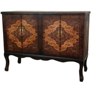 Oriental Furniture Olde-Worlde Vintage Double Chest