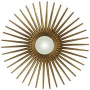 Cooper Classics Sunburst Mirror; Antique Gold
