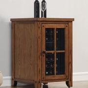 Tresanti Dakota 18 Bottle Wine Cabinet; Premium Oak