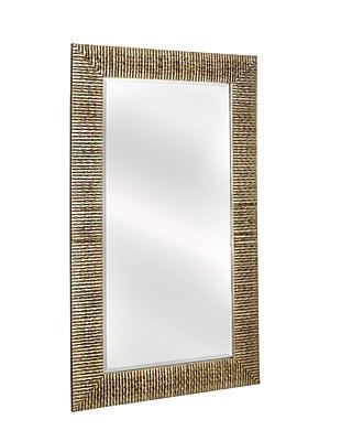 Majestic Mirror Large Rectangular Stylish Silver Framed Beveled Glass Wall Mirror WYF078277336731