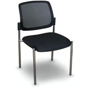 Marvel Office Furniture Fermata  Mesh Stackable Visitor Chair; Aluminum