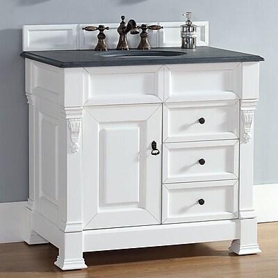 James Martin Furniture Brookfield 35'' Single Cabinet Vanity Base; Cottage