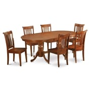 Wooden Importers Plainville 7 Piece Dining Set; Non-Upholstered Wood