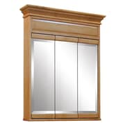 Sunny Wood Briarwood 30'' x 37.5'' Mirrored Wall Mounted Cabinet