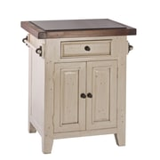 Hillsdale Tuscan Retreat  Kitchen Cart with Granite Top