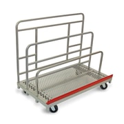 Raymond Products 46.75'' x 30'' x 54'' Heavy Duty Waterfall Panel and Sheet Mover Table Dolly