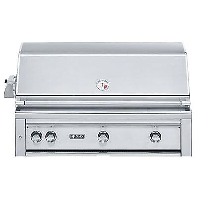 Lynx 3-Burner Built-In Propane Gas Grill w/ Smoker; Natural Gas WYF078277386109