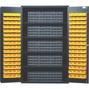 Quantum 72'' H x 48'' W x 24'' D Storage Cabinet; Black