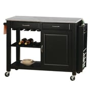 Wildon Home   Cottonwood Kitchen Island w/ Granite Top