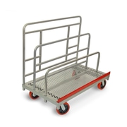 Raymond Products 48.75'' x 30'' x 54'' Heavy Duty Waterfall Panel and Sheet Mover Table Dolly