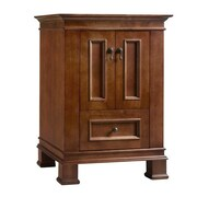 Ronbow Venice 24'' Bathroom Vanity Cabinet Base in Colonial Cherry