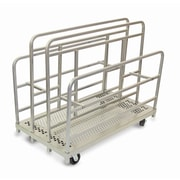 Raymond Products 46.75'' x 30'' x 54'' Heavy Duty Cross Braced Panel and Sheet Mover Table Dolly