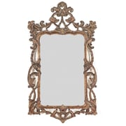 Majestic Mirror Decorative Traditional Rectangular Bronze Antique Wall Mirror