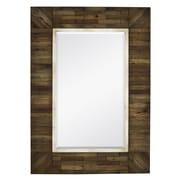 Majestic Mirror Mirror w/ Country Style Natural Wood Frame