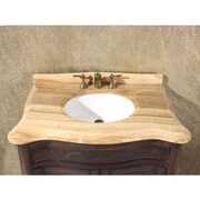 InFurniture 36'' Single Bathroom Vanity Set; Wood Vein