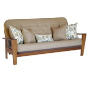Big Tree Furniture Asana Futon Frame and Mattress