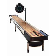 Playcraft Telluride Espresso Shuffleboard Table; 22' D