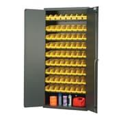 Quantum Pick Rack 78'' H x 36'' W x 18'' D Storage Cabinet; Yellow