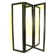 Wayborn 72'' H x 60'' W Mirror 3 Panel Room Divider