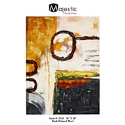 Majestic Mirror Mixed Media Back Painted Plexi Wall Art