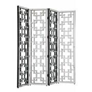 Elegant Lighting 80'' x 72'' Modern 4 Panel Room Divider